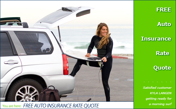 Free Auto Insurance Rate Quote, InsuranceSurfers.com